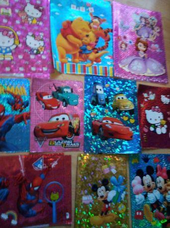 Coperti noi:Frozen,Carrs,Violeta,Spiderman,Disney,Sofia,Minionii,10buc