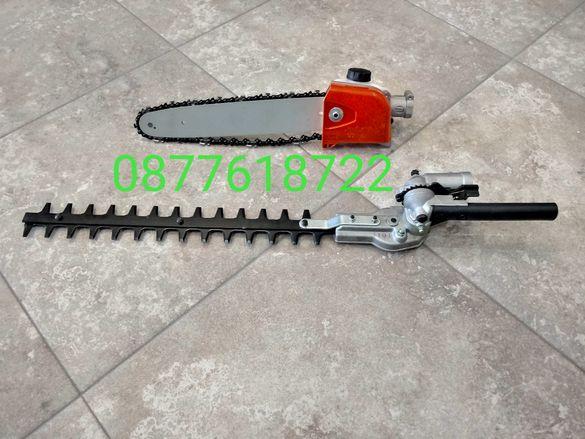 Приставка за храсторез и моторен тример два модела 7 и 9 шлици