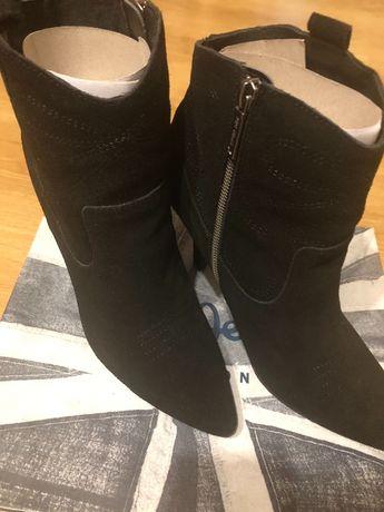 Боти Pepe Jeans естествен велурПРОМО ЦЕНА