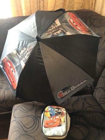 Чадър и чантичка