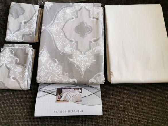 Луксозен комплект за спалня (100% висококачествен памук) на ТАЧ, Турци