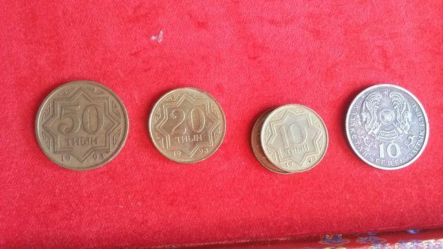Продам Казахстанские монеты.