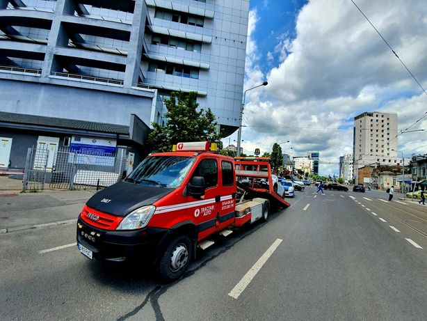 Iveco Daily 65c18 - platforma hidraulica tractari auto