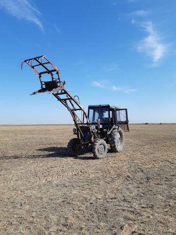Трактор Т-40 кун, ковш, вила