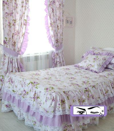 Постельное белье, шторки,покрывала на заказ,ткани Турция