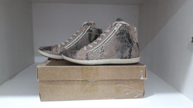 Кожаные ботиночки весна/ лето