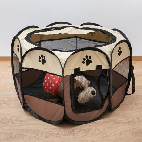 Заграждение за куче или котка от текстил