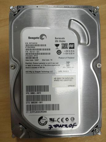 Жёсткий диск 250гб