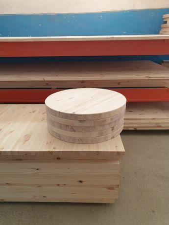 Blat ( panou, placa) lemn masiv pin perfect finisat si slefuit nou