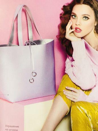 Продам двухстороннюю сумку-шопер