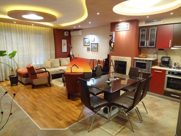 Луксозен нов , тристаен , апартамент, нов монолит, до Харите , К. Пари