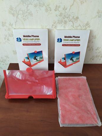 3Д увеличитель экрана смартфона