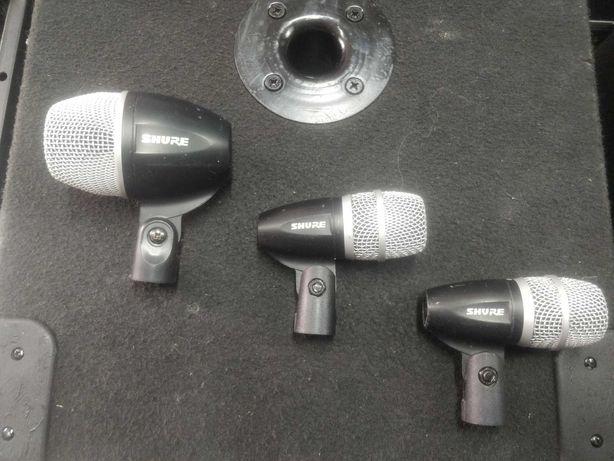 Микрофоны Shure PG52 и Shure PG56