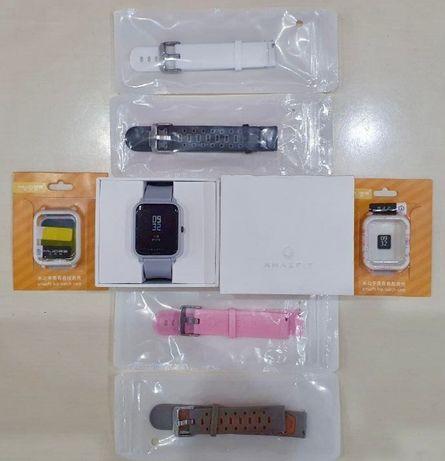 Смарт-часы Xiaomi AMAZFIT Bip GPS ГЛОБАЛ! Фитнес-трекер, пульс!