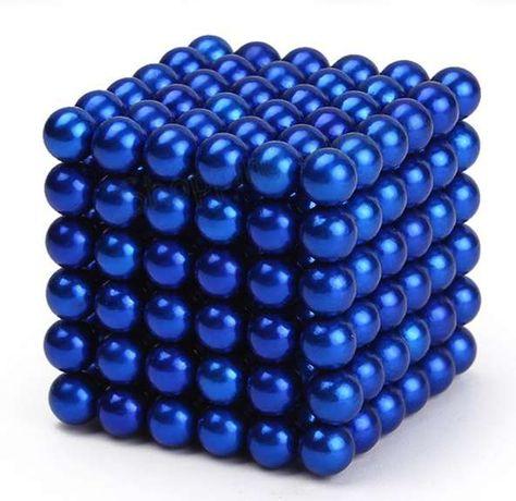 216 магнитни топчета 5 мм. магнитни сфери, неокуб сребристи, червени