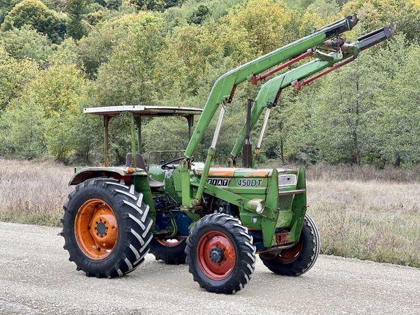 Tractor Fiat / UTB 450 DT 4x4 cu încărcător frontal,import Germania 44
