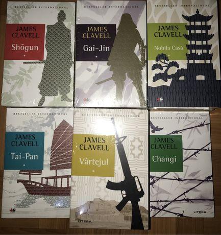 James Clavell- Saga asiatică, completă-11 volume/NOU