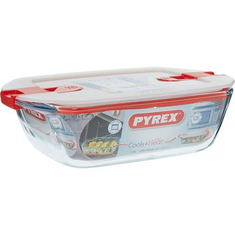 НОВ! Pyrex Cook&Heat съд за приготвяне/съхранение на храна с капак