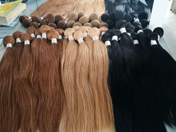 , естествена коса от Фабрика