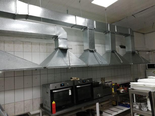 Изготовление и монтаж систем вентиляции. Приточно-вытяжных систем.