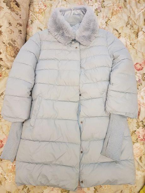 Куртка зимняя голубая