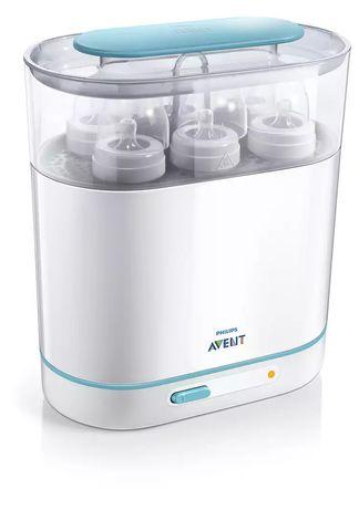 Sterilizator electric cu abur 3 în 1