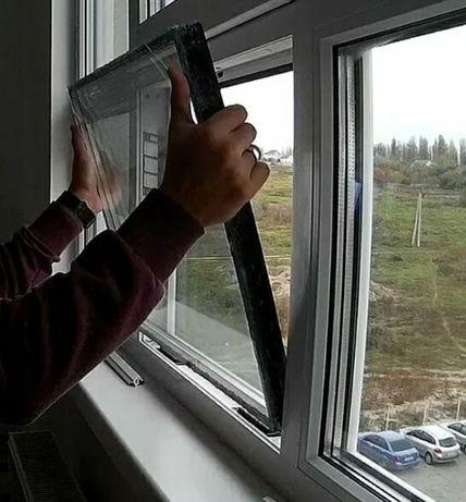 Замена стеклопакетов, Ремонт, и регулировка окон и дверей.