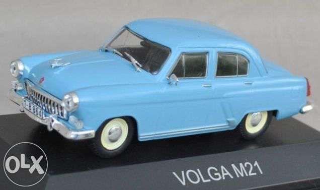 Macheta GAZ M21 Volga - DeAgostini 1:43