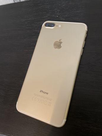 Продажа IPhone 7+, цвет gold