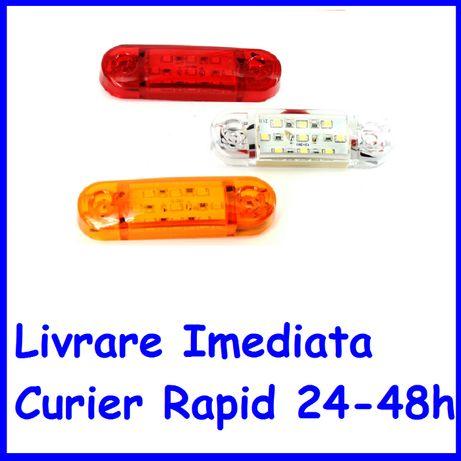 SET Lampa Gabarit laterala REMORCA RULOTA LED 9 SMD 12V-24V