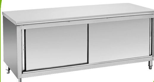 Работна маса със шкаф чисто нова 180х80см чисто нова