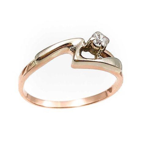 АКЦИЯ! Золотое кольцо , красное 585 Россия «Ломбард Верный» С5320