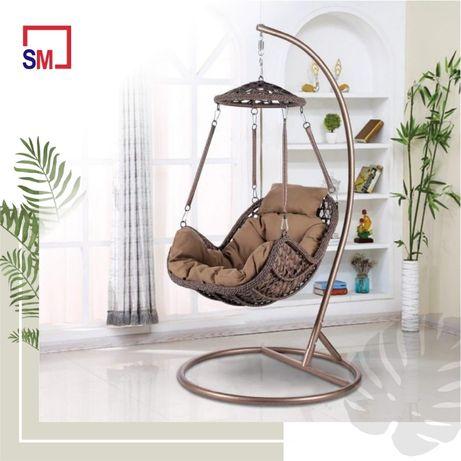 Подвесные кресла из искусственного ротанга