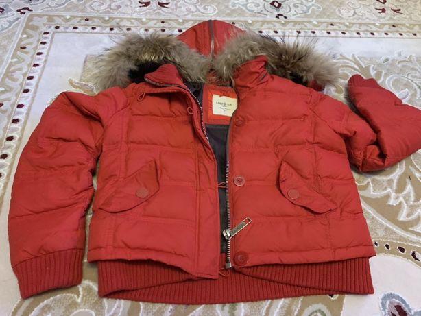 Недорого куртка и норковый жилет в хорошем состоянии