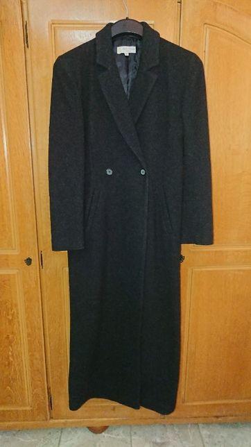 Palton subtire, lung de dama, marca Paul-Marcel, M. 44, negru