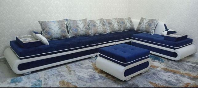 """Diamond"" угловой диван с цеха в оригинале"
