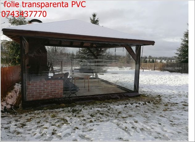 inchideri terase folie transparenta pvc cristal uv