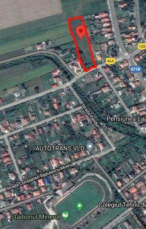 Vand teren 4.900 m² situat in vecinatatea cartierului de case Stiucani