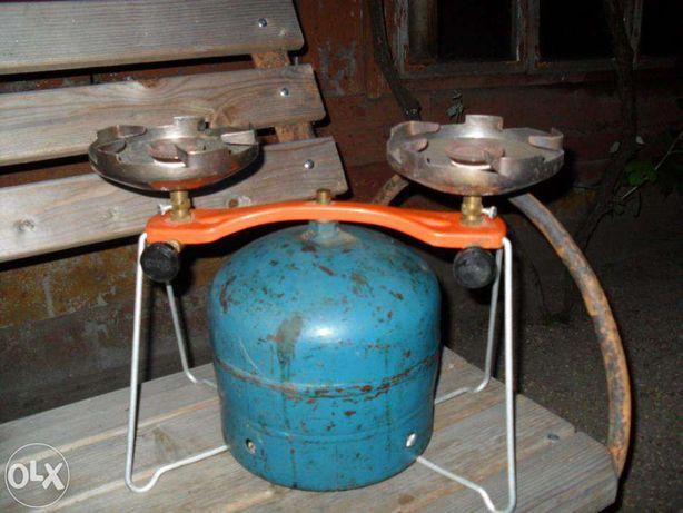 Aragaz tip turist si plita de gatit cu gaz