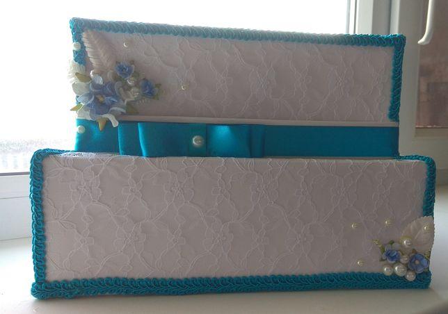 Новая Свадебная коробка для денег