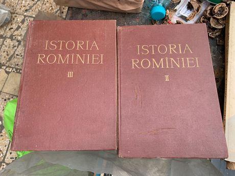 Istoria Romaniei romanilor vol 2 si vol 3