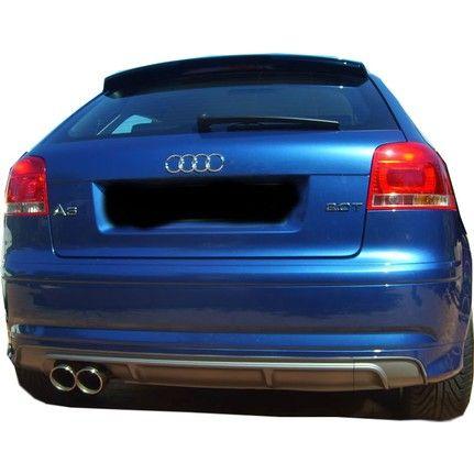 Audi a3 2003 - 2012 дифузьор за задна броня ауди