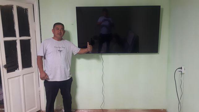 Кронштейн для телевизор установка подвеска на стену телевизора Отау тв