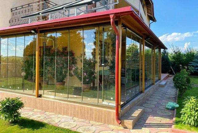 Inchideri terase balcoane foisoare cu sticlă armonică
