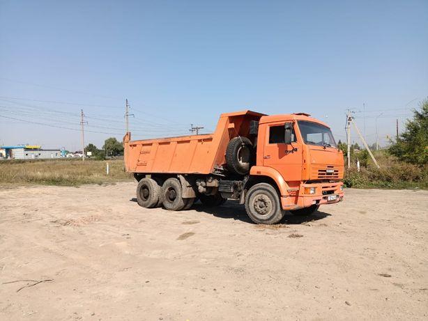 Перевозка , КАМАЗ самосвал 6520 , 20 тоник