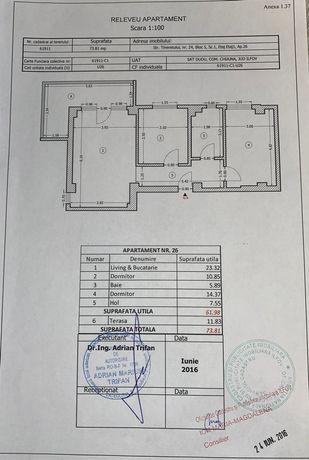 Vând apartament 3 camere Militari Rezidence