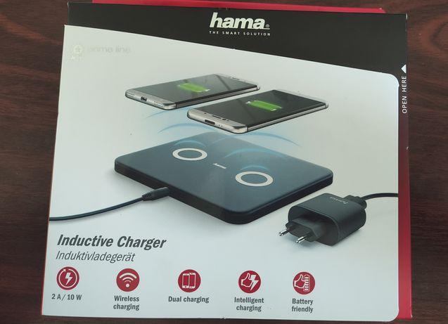 Încărcător dublu inductie (wireless) HAMA 10W - Sigilat