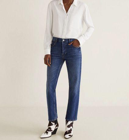 Прямые джинсы Манго. размер 32, XS-S. новые