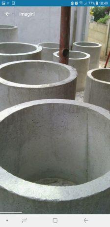 Tuburi din beton pt fantani fose
