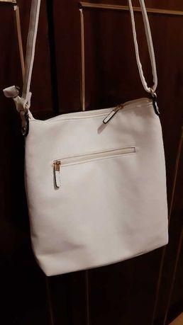 Дамска чанта - бяла